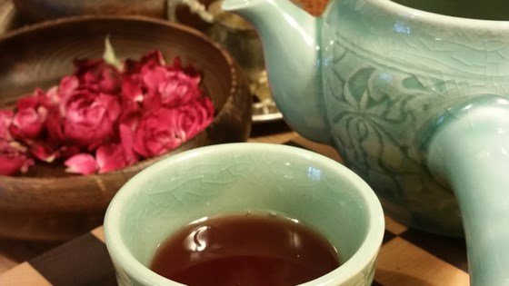 Photo of Tart Rose and Ginger Tea by Elisa Gale