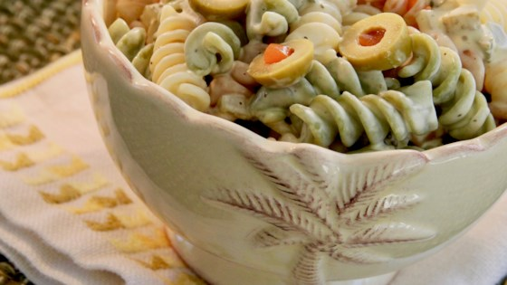 Photo of Dill Pickle Pasta Salad  by notimetocook