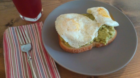 Photo of Avocado Toast with Egg by barbara