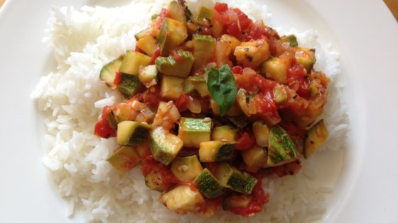Photo of Easy Zucchini-Tomato Side Dish by mooku007
