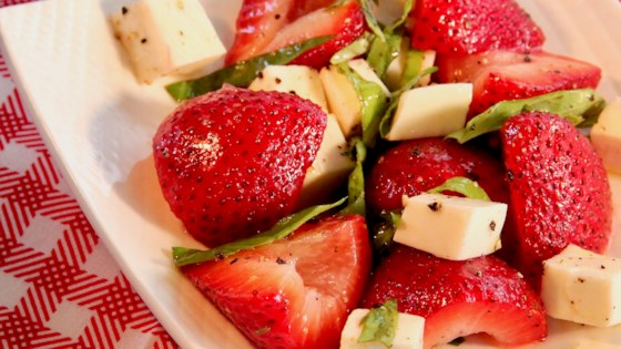 Strawberry Caprese Salad Recipe