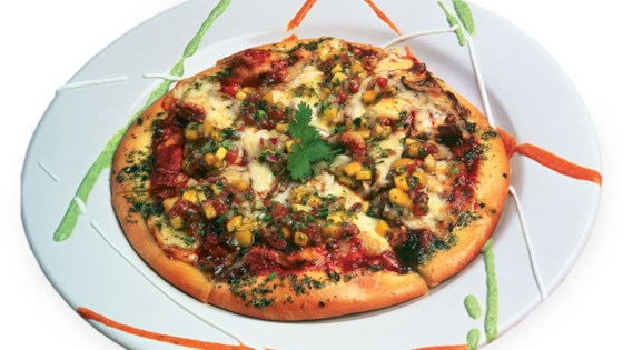 Photo of Jerk Chicken Pizza with Mango Salsa by Saputo