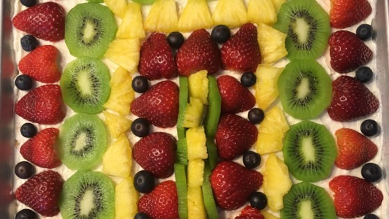 Photo of Fruit Pizza by Taste of Home Test Kitchen