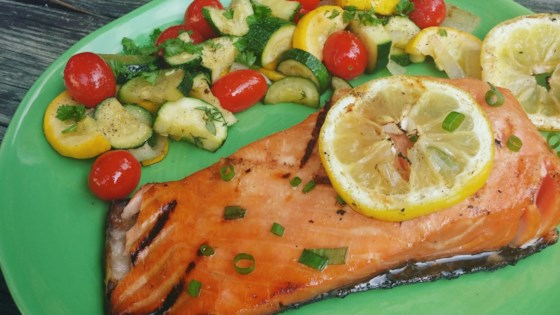 Photo of Honey-Ginger Grilled Salmon by Kerri Skrudland