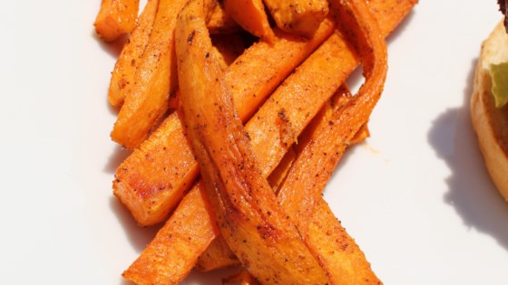 Photo of Oven Baked Sweet Potato Fries by United Soybean Board