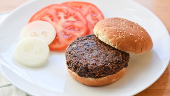 Photo of Vegan Black Bean Burgers by jeshaka