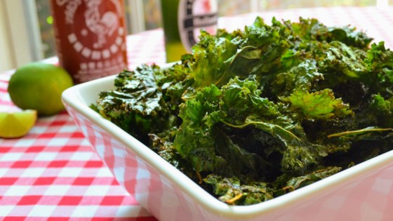Photo of Sriracha-Lime Kale Chips by France C.