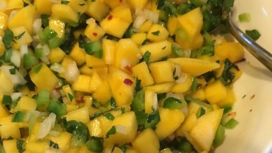 Photo of Spicy Mango Salad with Jalapeno by Nanda
