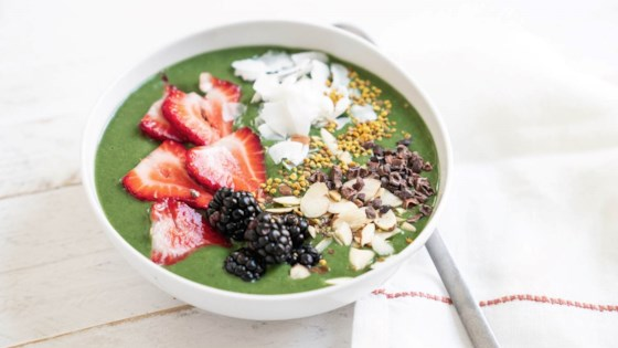 Photo of Green Glow Smoothie Bowl by Sonja Overhiser