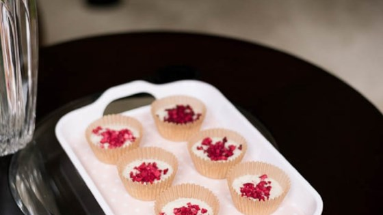 Photo of Raspberry White Chocolate Keto Fat Bombs by Keto Summit