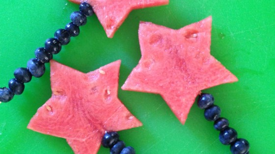 Photo of 4th of July Fruit Kabobs by sanne