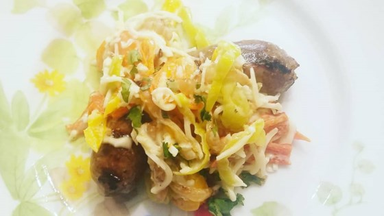 Photo of Hot and Sweet Grilled Italian Sausage with Peppers by Chez Valerie