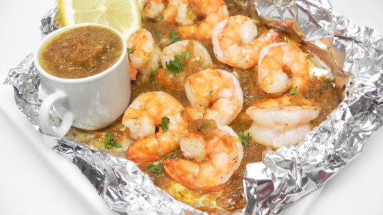 Photo of Jamaican Jerk Shrimp in Foil by JOHN MITSCHKE