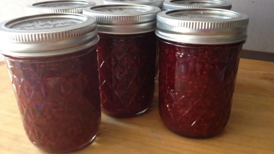 Photo of Red Raspberry-Orange Jam by hilde