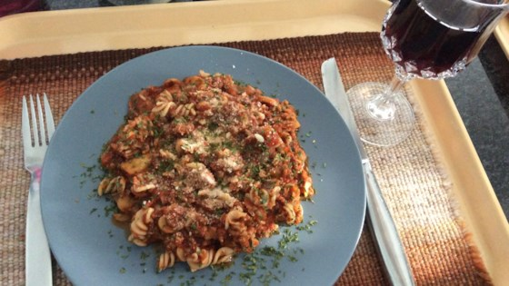 Photo of Low-Fat Ground Turkey Pasta  by mleiland