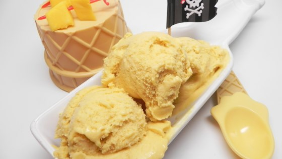 Photo of The Captain's Mango Ice Cream by Soup Loving Nicole