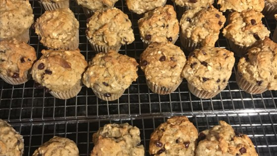 Photo of Gluten-Free Banana Oatmeal Muffins by Sheri @myurbanspice