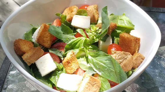 Photo of Arugula Caprese Salad by Kelli Kneeland Boulter