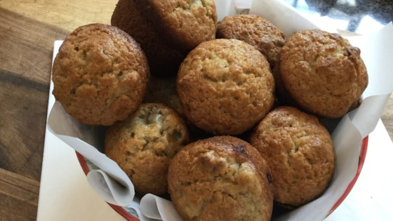 Photo of Moist Banana Muffins by scholzy