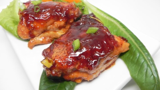 Photo of Tangy Apricot Chicken Thighs by Nicole