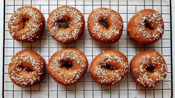 Photo of Pumpernickel Bagels by sueb