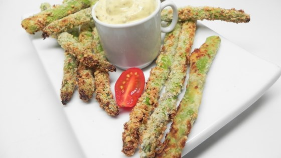 Photo of Air-Fryer Asparagus Fries by Soup Loving Nicole