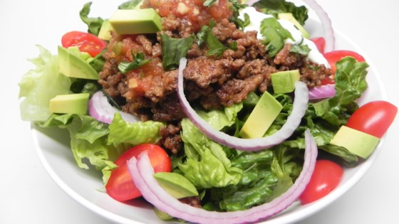 Photo of Easy Keto Taco Salad Bowl for 2 by Fioa