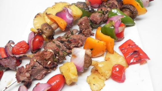 Photo of Grilled Southwestern Shish Kebabs by Annie