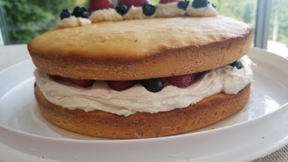 Photo of Deliciously Refreshing Naked Layer Cake by evascooking