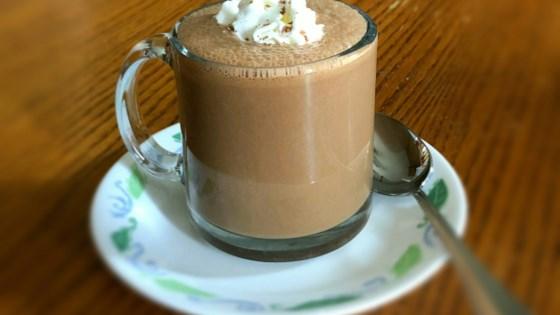 Simple Molten Iced Chocolate Latte Recipe Allrecipes Com