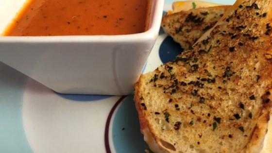 Photo of Creamy Tomato-Basil Soup by Alok