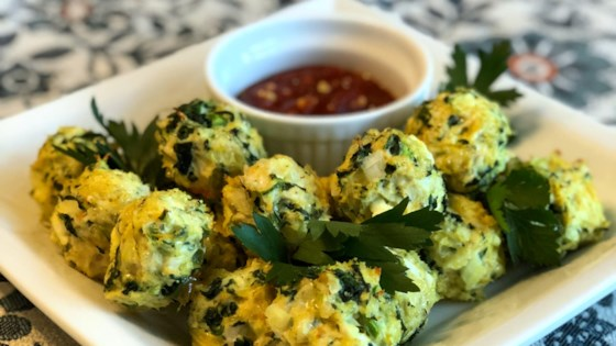 Photo of Chicken Spinach Meatballs by Radhika
