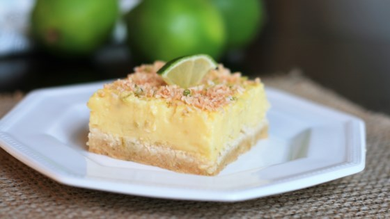 Photo of Keto Coconut Lime Bars by France C.