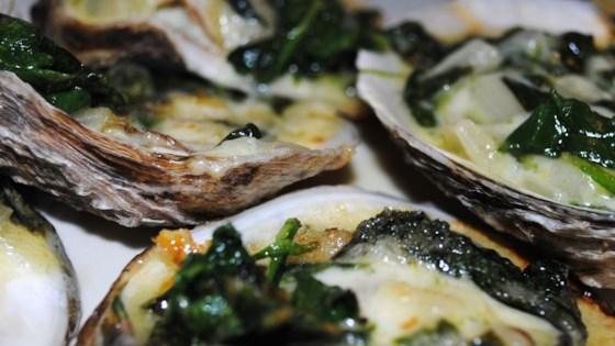 rockin oysters rockefeller review by steve o