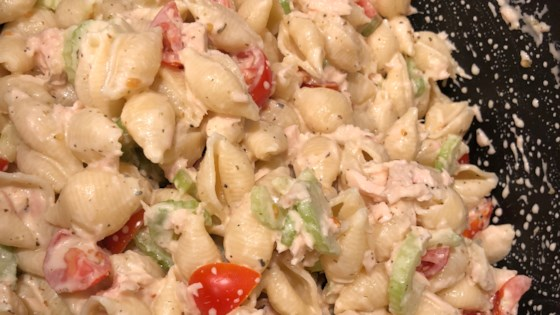 Photo of Cold Tuna Macaroni Salad by D