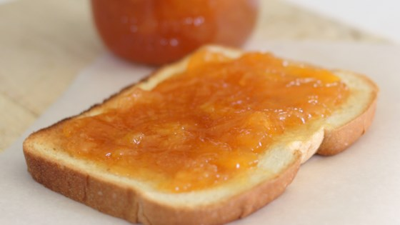 Photo of Spiked Peach Jam with Ginger by sanne