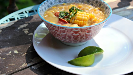 Photo of Instant Pot® Corn Chowder with Smoked Sausage by Diana71