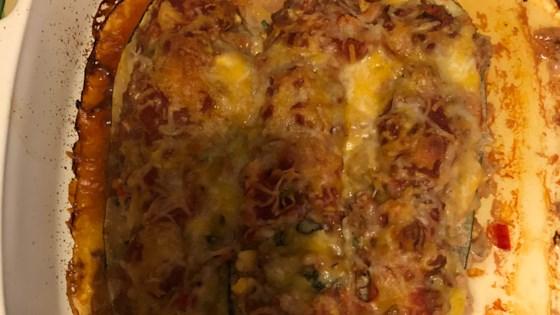 Photo of Southwest Stuffed Zucchini by KATHYP100