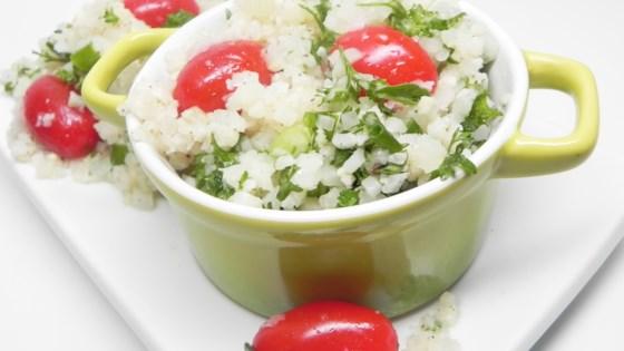 Photo of Cauliflower Tabbouleh by amyemt