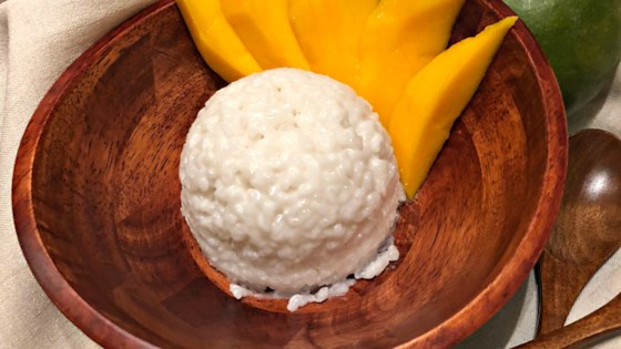 Photo of Sweet Sticky Rice and Mango by kerry