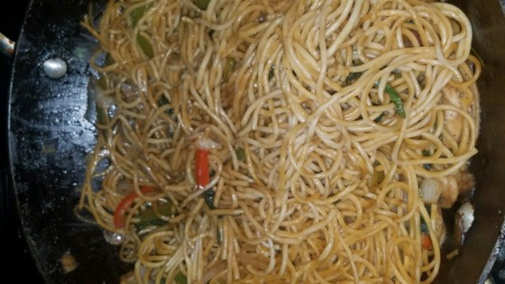 Photo of Veggie Lo Mein by sal