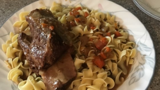 Photo of Braised Cabernet Beef Short Ribs by Jennifer G.