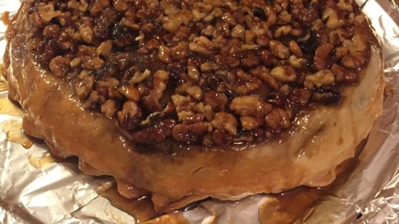 Photo of Upside Down Caramel Apple Pie by Donna