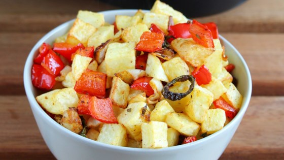 Photo of Tex-Mex Air Fryer Hash Browns by Buckwheat Queen