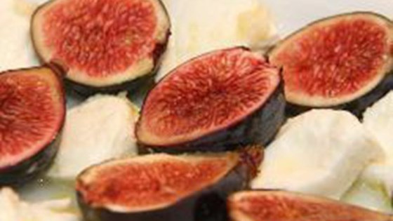 Photo of Mozzarella and Fresh Fig Salad by AnneFrancoise