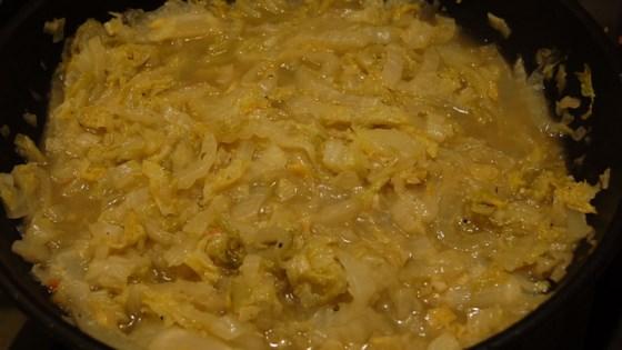 Photo of Sauteed Napa Cabbage by barbara