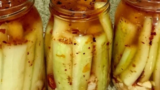 Photo of Chinese-Korean Cucumber Kimchi by Helena C