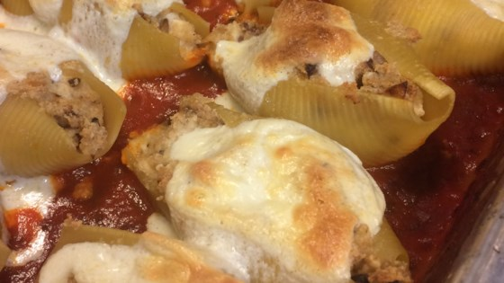 Photo of Cheese and Bacon-Stuffed Pasta Shells by Patches