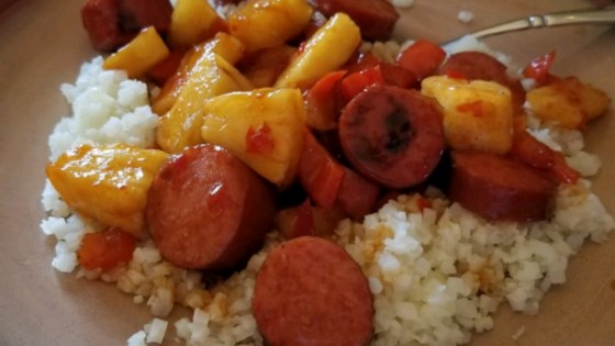Photo of Hawaiian Pineapple Sweet & Sour Smoked Sausage by Hillshire Farm® Brand