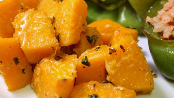 Photo of Garlicky Baked Butternut Squash by Anita Bukowski
